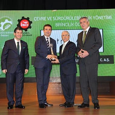 İSO Çevre Ödül Töreni